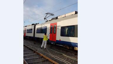 Nettoyage des trains sous haute tension!