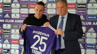 Adrien Trebel portera le numéro 25 à Anderlecht