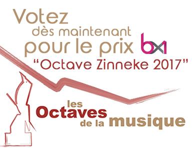 Prix BX1 «Octaves de la Musique»2017
