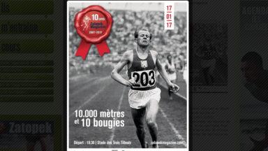 Boitsfort : le magazine Zatopek fête ses 10 ans avec un 10.000 mètres symbolique