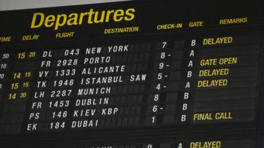 L'alarme d'accident déclenchée à dix reprises en 2016 à Brussels Airport