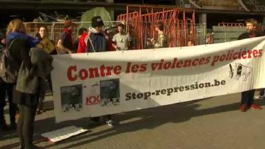 Une centaine de personnes rassemblées contre les violences policières