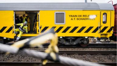 Déraillement d'un train à Louvain : retour à la normale lundi sur la ligne 36