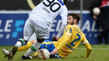 Défaite de l'Union Saint-Gilloise face à Leuven : 2-0