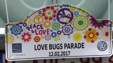 Environ 300 Coccinelle et Beetle participent à la 9e Love Bugs Parade