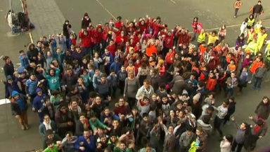 70 000 élèves «baissent les watts» partout en Belgique