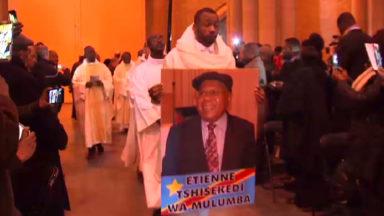 La basilique de Koelkelberg dans l'ambiance congolaise en hommage à Etienne Tshisekedi