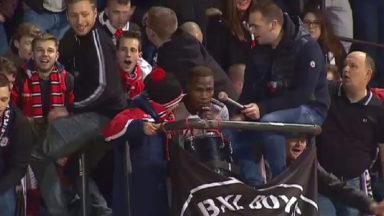 Football : entre 3 000 et 4 000 supporters du RWDM au match de la division 3B