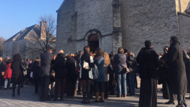 Funérailles de la maman décédée dans l'incendie de Schaerbeek