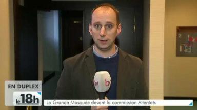 La Grande Mosquée devant la Commission Attentats