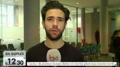 L'auteur de plusieurs fausses alertes à la bombe placé sous mandat d'arrêt
