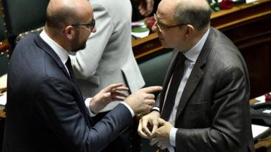 Charles Michel rencontre les représentants des victimes des attentats de Bruxelles