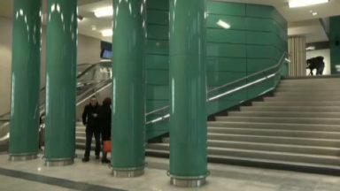 Le passage Rogier rénové de la gare de Bruxelles-Nord rouvre ses portes