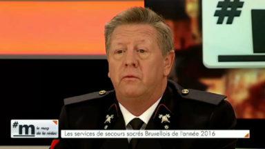 Alain Lecomte (adjudant des Pompiers) : «J'ai été frappé par le silence total dans la station Maelbeek»