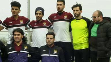 Un club de réfugiés, pour oublier le quotidien via le foot