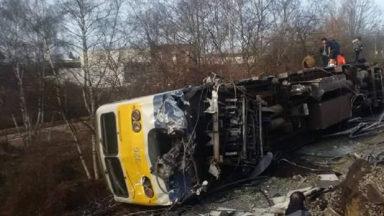 Un train déraille près de la gare de Louvain : un mort et circulation perturbée