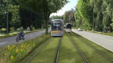 Les travaux du tram 9 ont commencé avenue de l'Exposition universelle à Jette