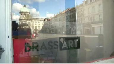 Molenbeek : le Brass'Art est inauguré sur la place communale