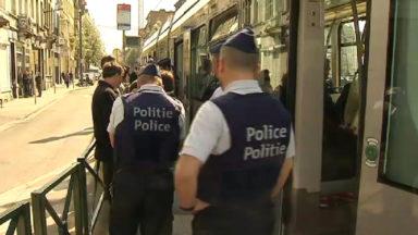Plus de 1.000 voyageurs de la Stib interceptés sans titre de transport mardi à Bruxelles