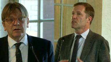 Un débat opposant Guy Verhofstadt à Paul Magnette a eu lieu au Parlement bruxellois