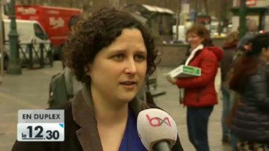 Rassemblement à Bruxelles pour réaffirmer le droit à l'avortement