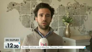 Brussels Airlines veut reprendre Thomas Cook Belgique : 40 emplois perdus
