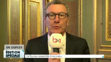 Mayeur sur le rassemblement à la Bourse : «une marque exceptionnelle des Bruxellois pour la vie»