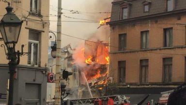 St Gilles : une habitation de la Barrière détruite suite à une explosion