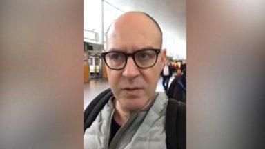 22 mars : Walter Benjamin accuse les autorités belges dans une video postée sur Facebook