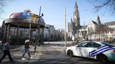 Véhicule suspect à Anvers : le conducteur placé sous mandat d'arrêt