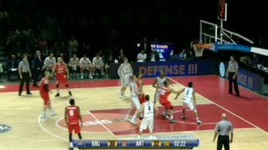 Basket : fête totale pour le Brussels Basket qui bat Anvers 67-61