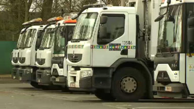 Forest : grève des agents de Bruxelles Propreté chargés de l'enlèvement commercial