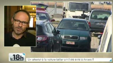 Anvers : le véhicule suspect évacué et le périmètre de sécurité levé