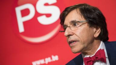 Elio Di Rupo ne se présentera pas à la prochaine élection présidentielle du PS
