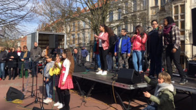 Saint-Gilles : chanter contre les discriminations raciales
