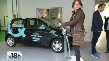 Europcar inaugure une station pilote dans le quartier européen