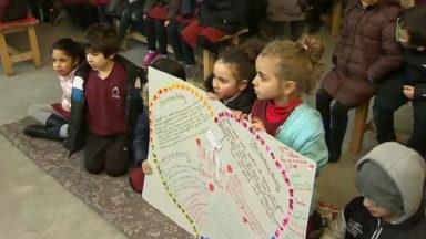 22 mars : hommage des élèves de l'école Al Ghazali à leur professeure décédée