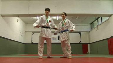Karaté : Walid et Youness, deux médaillés de bronze pleins de promesses