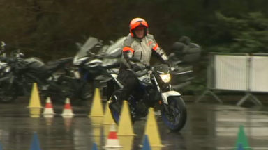 Les motards pourront désormais s'entraîner sur le site de la Maison de la sécurité routière à Haren