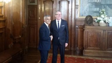 Rencontre entre le maire de Londres et le bourgmestre de Bruxelles
