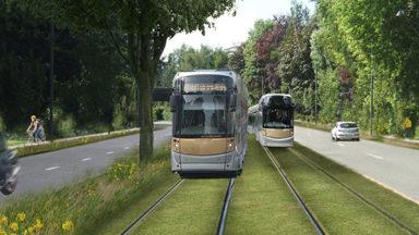 L'hôpital UZ VUB à Jette souffre des travaux de la future ligne de tram 9