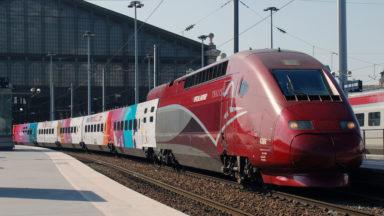 Grèves en France : le trafic des Thalys perturbé jusque lundi