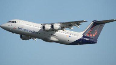 Un avion de Brussels Airlines retourne à Bruxelles en raison d'un problème technique