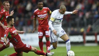 Anderlecht creuse l'écart grâce à son succès à Ostende (0-1)