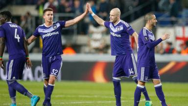 1/4 de finale retour: Anderlecht et Genk peuvent rêver de poursuivre leur parcours en Europa League