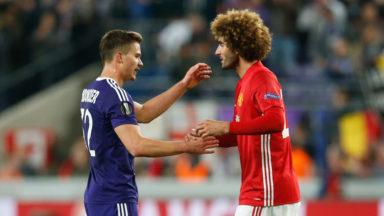 Europa League : Anderlecht tient Manchester United en échec (1-1)