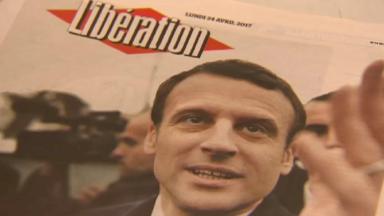 Elections françaises : la joie des pro-Macron à Bruxelles