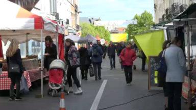 Les Etterbeekois ont un nouveau marché rue Général Leman