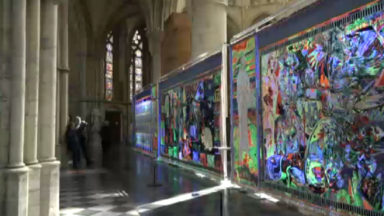 L'exposition « Tapestry of light » revisite l'apocalypse à la cathédrale de Bruxelles
