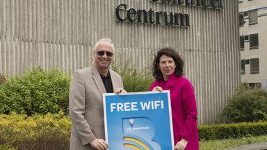 100e borne de wifi gratuit à Bruxelles